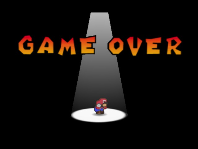 Paper Mario - waaaah :( - User Screenshot
